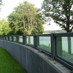 NF-35G Glass Wall Flood Barrier 03
