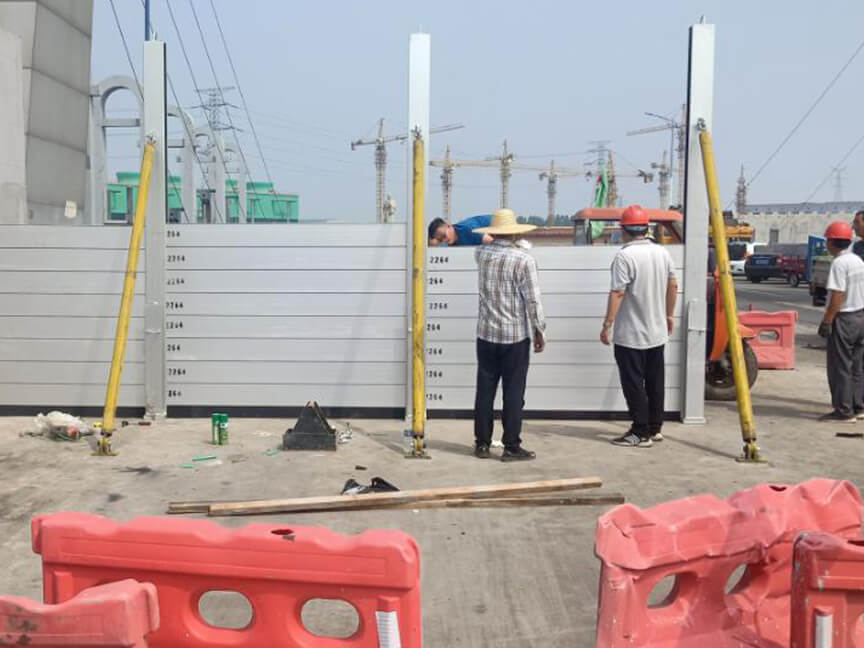 Flood control improvement project of Xinghua River in Huantai County, Zibo City