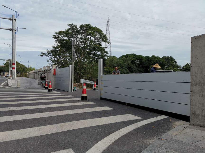 Traffic improvement project of North Jiangbin Road, Quanzhou City (entrance of Jiangbin Park)