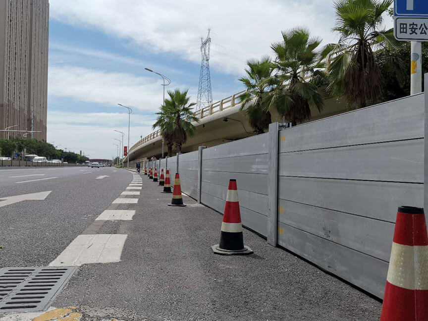 Traffic improvement project of North Jiangbin Road, Quanzhou City (motor vehicle entrance of Tian'an Park)
