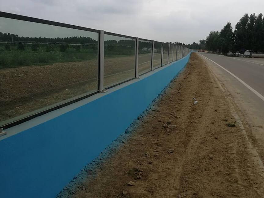 Weihe flood control project (Gaomi section) Jiaowang road Jiqing line